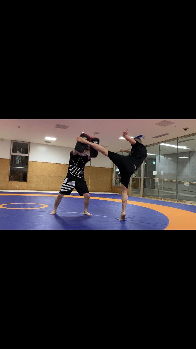 3回目のキックボクシング